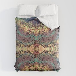 Mountain Trail Edit Invert Comforters