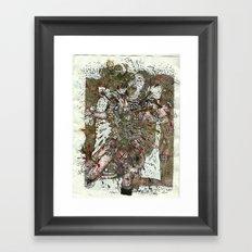 Martyr Dumb Framed Art Print