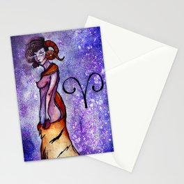 Aries zodiac Stationery Cards