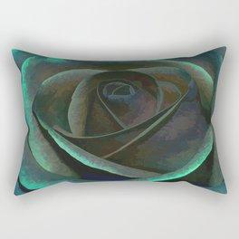 Northern Lights Rose Rectangular Pillow