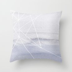 Water and Color 5 Throw Pillow
