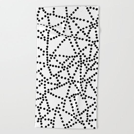 Dots Beach Towel