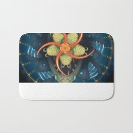 Deep-Sea Mandala Bath Mat