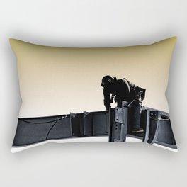 Steel worker Rectangular Pillow