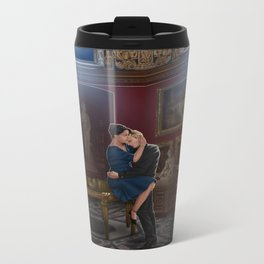 comfort before confession Metal Travel Mug