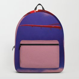 Red Arrow Head On Backpack