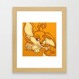 Orange Touch Framed Art Print