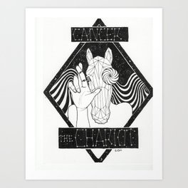 Cancer/ The Chariot Art Print