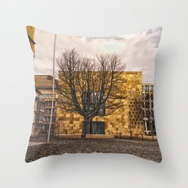 Architecture in Ulm Throw Pillow