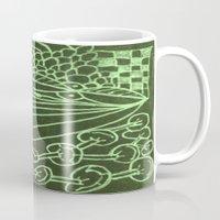 zentangle Mugs featuring Zentangle by AM Prono