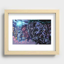 Black Panther: Wakandan Warrior Recessed Framed Print