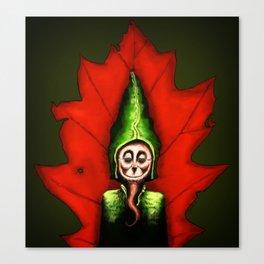 Leaf Gnome Canvas Print