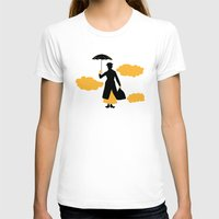 mary poppins T-shirts featuring Mary Poppins by FilmsQuiz