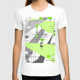 Mid-century Modern Abstract T-shirt