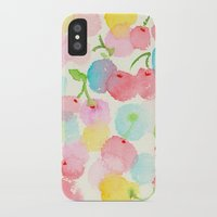 cherry blossom iPhone & iPod Cases featuring cherry blossom by zeze