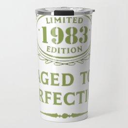 Green-Vintage-Limited-1983-Edition---34th-Birthday-Gift Travel Mug