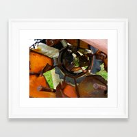 metal Framed Art Prints featuring Metal by BriS