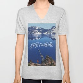 Step Outside Unisex V-Neck