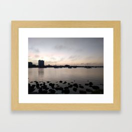 Good Morning Sarasota Framed Art Print