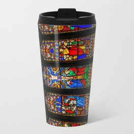 INRI Stained Glass Travel Mug