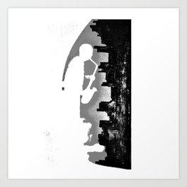 Sax.. Art Print