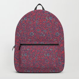 Wild Succory Meadow in Red Backpack