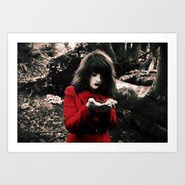 Red Riding Hood 2 Art Print