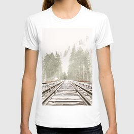 Railway in the forest T-shirt