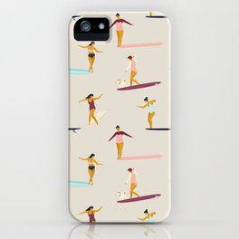 Dancers of the sea iPhone Case