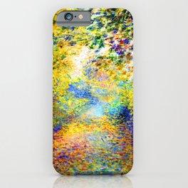 Renoir In the Woods iPhone Case