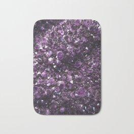 Amethyst Crystal Photography Bath Mat