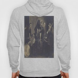 Vintage Photograph- New Orleans Jazz Hoody