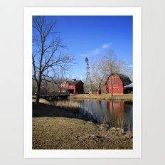 Bonneyville Mill Art Print