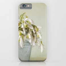 snowdrops N°2 iPhone 6s Slim Case