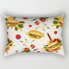 cheeseburger in gangstas paradise Rectangular Pillow