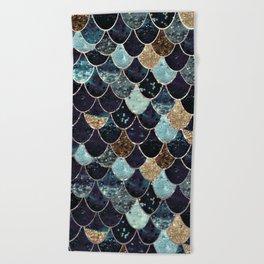 REALLY MERMAID - MYSTIC BLUE Beach Towel