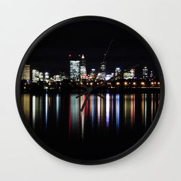 Reflections of Perth's CBD Wall Clock