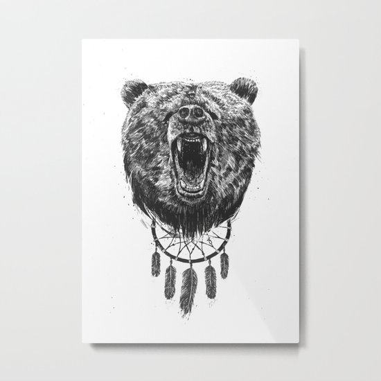 Don't wake the bear Metal Print