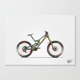 Santa Cruz V10, Steve Peat Edition Canvas Print
