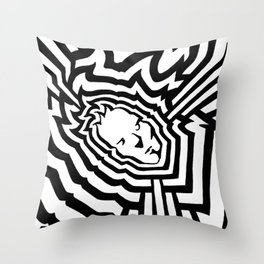 Radiation #2 Throw Pillow