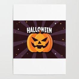 Scary Pumpkin - Happy Halloween 2 Poster