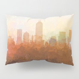 Indianapolis Skyline - In the Clouds Pillow Sham
