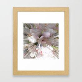 Abstract apple tree Framed Art Print