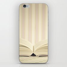 Stories in the books (Retro and Vintage Still Life Photography) iPhone & iPod Skin