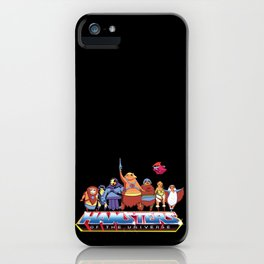 Hamsters Of The Universe iPhone Case