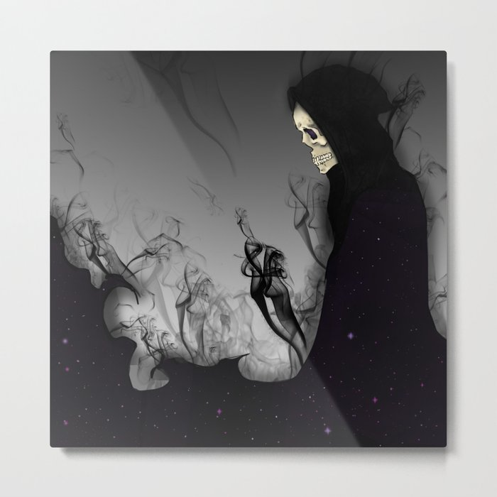 Death Galaxy Metal Print