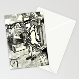 Dead of Poet Fernando Pessoa Stationery Cards
