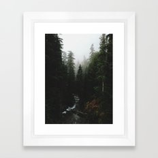 Rainier Creek Framed Art Print
