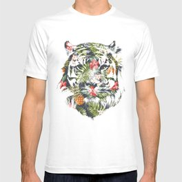 Tropical tiger T-shirt