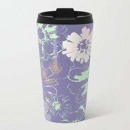 Late Summer Lavender Metal Travel Mug